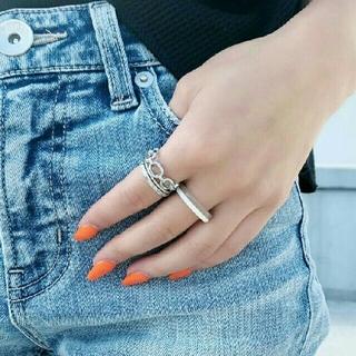 ジェイダ(GYDA)の今季♥ジェイダ♥クリアsetリング新品未使用タグつき(リング(指輪))