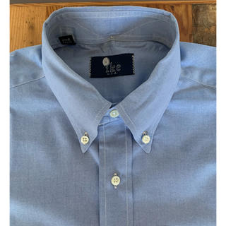 ラルフローレン(Ralph Lauren)のIKE BEHAR ピンポイントオックスフォード ボタンダウンシャツ ブルー(シャツ)