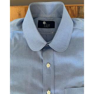 ラルフローレン(Ralph Lauren)のIKE BEHAR コットン ラウンドカラー L/Sシャツ ブルー(シャツ)