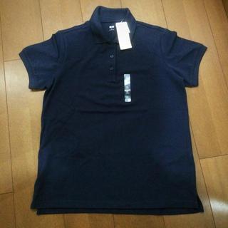 ユニクロ(UNIQLO)の【新品】ユニクロ woman ストレッチ カノコポロシャツ(半袖)(ポロシャツ)