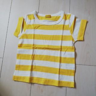 シマムラ(しまむら)のしまむら 新品 ボーダー Tシャツ オーガニックコットン(Tシャツ)