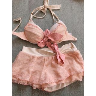 ピンクのレース 水着(水着)