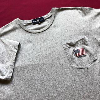 ラルフローレン(Ralph Lauren)の90s Ralph Lauren 星条旗 ポケT ラルフローレン tシャツ ポロ(Tシャツ(半袖/袖なし))
