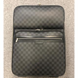 ルイヴィトン(LOUIS VUITTON)のルイヴィトン ペガス55 ビジネス ダミエ・グラフィット(トラベルバッグ/スーツケース)