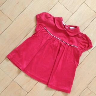 バーバリー(BURBERRY)のバーバリー えり付き Tシャツ ポロシャツ 80 女の子(シャツ/カットソー)