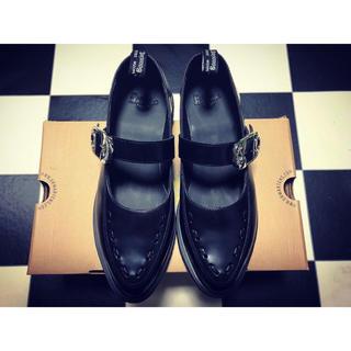 ドクターマーチン(Dr.Martens)の新品 ドクターマーチン 新作 メリージェーン カメイ(ローファー/革靴)