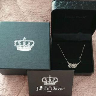 Justin Davis - 新品!!JUSTIN DAVIS MON COEUR/モンクール ネックレス