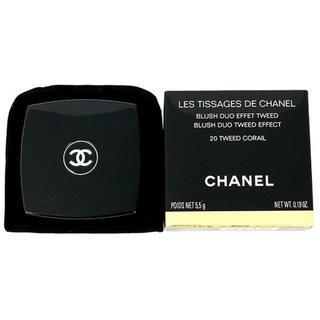 シャネル(CHANEL)のシャネル レ ティサージュ チーク 5.5g 20 ツイードコライユ(チーク)