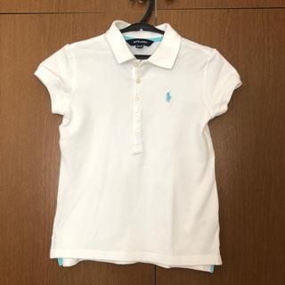 ラルフローレン(Ralph Lauren)のRalph Lauren 白ポロシャツ(Tシャツ/カットソー)