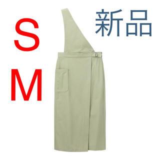 GU - 新品♡GU サス付きナローミディスカート