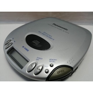 パナソニック(Panasonic)のパナソニック SL-S310 ポータブルCDプレーヤー(ポータブルプレーヤー)