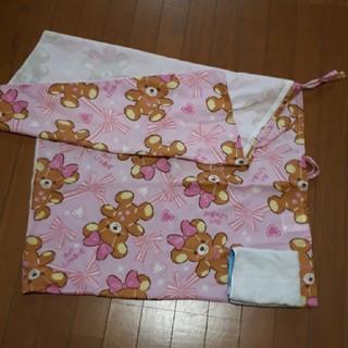 ニシマツヤ(西松屋)の昼寝布団 敷き布団カバー (ベビー布団)