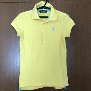 ラルフローレン(Ralph Lauren)のRalph Lauren 黄色ポロシャツ(Tシャツ/カットソー)