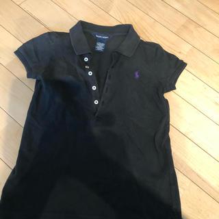 ラルフローレン(Ralph Lauren)のラルフローレン女の子ポロシャツ130クロ(その他)