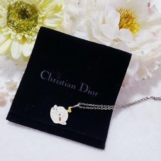 クリスチャンディオール(Christian Dior)の激レア Dior Summer Holiday 2002 ネックレス 保存袋付き(ネックレス)