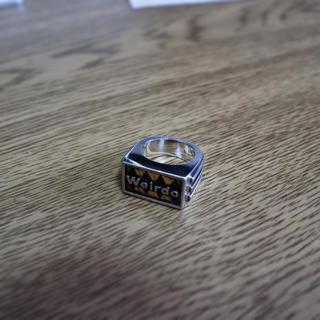 weirdo sig ring 925×K18(リング(指輪))