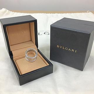 ブルガリ(BVLGARI)のBVLGARI/ブルガリ B-ゼロワンK18ホワイトゴールドリング(正規箱付き)(リング(指輪))