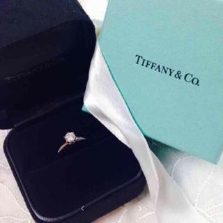 Tiffany & Co. - ティファニー0.4ct ❗️3EX ❗️ pt950❗️鑑定書付き❗️