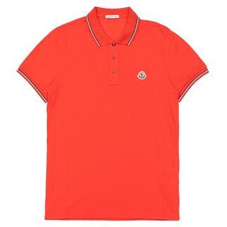 モンクレール(MONCLER)の新品!モンクレール ポロシャツ レディースOK! ゴルフ 赤 レッド(ポロシャツ)