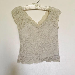snidel - race camisole