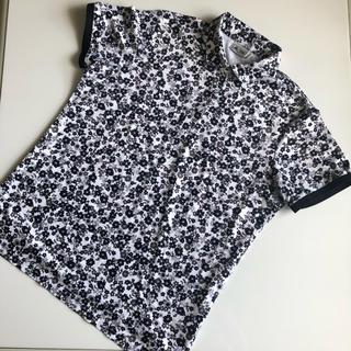adidas - アディダス ゴルフウエア 花柄 半袖ポロシャツ