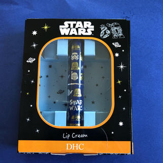 ディーエイチシー(DHC)のDHC 薬用リップクリーム 1.5g  スターウォーズ柄ブルー(リップケア/リップクリーム)