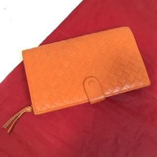 Bottega Veneta - ボッテガヴェネタ 折財布 オレンジ