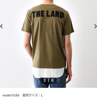 ロデオクラウンズワイドボウル(RODEO CROWNS WIDE BOWL)のロデオクラウンズ Tシャツ メンズ用 カーキL(Tシャツ/カットソー(半袖/袖なし))