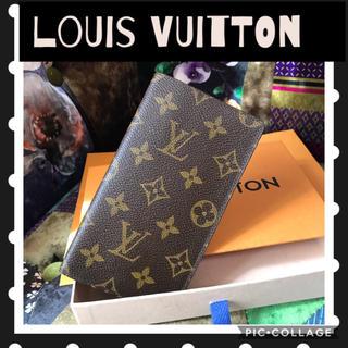 ルイヴィトン(LOUIS VUITTON)の正規品✳︎ルイヴィトンモノグラム✳︎美品手帳カバー✳︎メモ帳カバー✳︎(手帳)