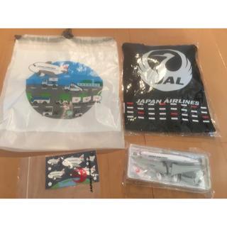 JAL(日本航空) - 【非売品】【JAL】飛行機ミニサイズ模型