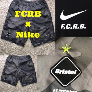 エフシーアールビー(F.C.R.B.)の【中古品】FCRB Nike 14SS カモ柄 プラクティス ショーツ(ショートパンツ)