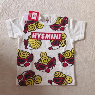 HYSTERIC MINI - HYSTERICMINI♡フェイスTシャツ 90