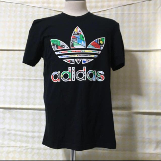 adidas(アディダス)のadidas originals Tシャツ XLサイズ  デカロゴ   カラフル メンズのトップス(Tシャツ/カットソー(半袖/袖なし))の商品写真