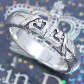 ジャスティンデイビス(Justin Davis)のジャスティンデイビス 17号 ラブウェルドリング ダイヤモンドリング 希少(リング(指輪))