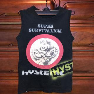 ヒステリックミニ(HYSTERIC MINI)のHYSTERIC MINI ヒスミニ タンクトップ ノースリーブ(Tシャツ/カットソー)