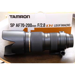 タムロン(TAMRON)の【デン様専用】TAMRON SP AF70-200mm F/2.8 A001P(レンズ(ズーム))