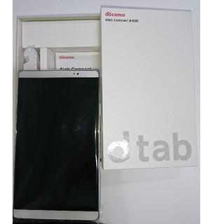 エヌティティドコモ(NTTdocomo)のdocomo dtab Compact d-02H(タブレット)
