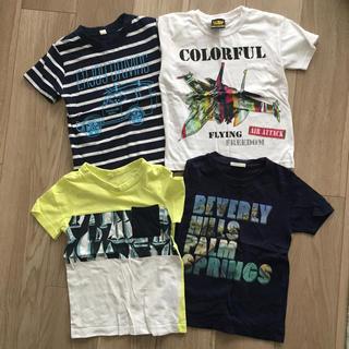 ジーユー(GU)の110cm/Tシャツ 4枚セット②♪(Tシャツ/カットソー)