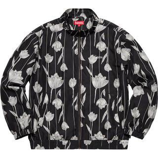Supreme - Floral Silk Track Jacket  Lサイズ