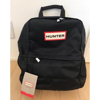 ハンター(HUNTER)のハンター HANTER バックパック リュック 新品 ブラック(リュック/バックパック)