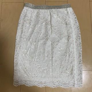 JEANASIS - JEANASIS ジーナシス ☆ レース  膝丈 スカート