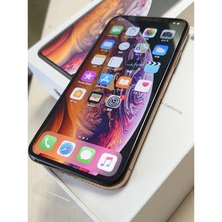 アイフォーン(iPhone)の【新品交換品】iPhoneXs 256GB SB版simフリー ゴールド(スマートフォン本体)