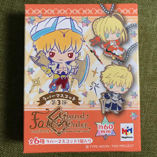 メガハウス(MegaHouse)のラバーマスコット Fate/Grand Order Sanrio 第3弾(キャラクターグッズ)