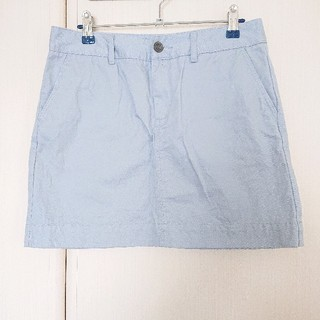ユニクロ(UNIQLO)のユニクロ チノ ミニスカート 67cm(ミニスカート)
