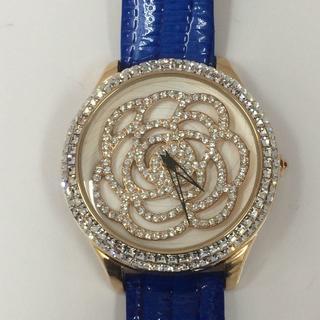 未使用 ruruca  ルルカ スワロフスキー 腕時計 e008(腕時計)