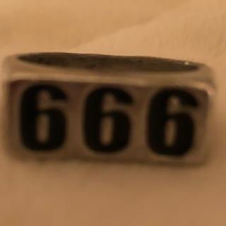 Supreme - 666リング 新品未使用