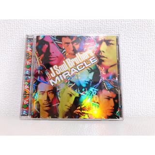 サンダイメジェイソウルブラザーズ(三代目 J Soul Brothers)のCD【結婚式にどうぞ】「MIRACLE」三代目J Soul Brothers(ポップス/ロック(邦楽))