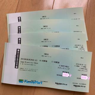 oneus 東京公演 チケット