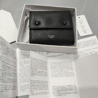 セリーヌ(celine)のCELINE セリーヌ コンパクト三つ折りミニ財布 (折り財布)