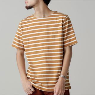 ナノユニバース(nano・universe)のシルケットボーダーTシャツS/S(Tシャツ/カットソー(半袖/袖なし))